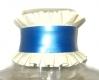 Unisex Latex Halsband mit Rüschen