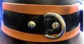 Latex Halsband mit D-Ring