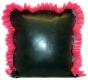 Latex Kissen mit Rüschen 40x40 cm