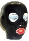 Anatomische Latex Maske - geklebt